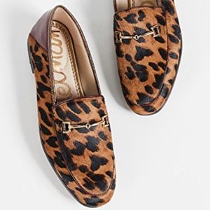 Sam Edelman Leopard Red Loraine Loafer